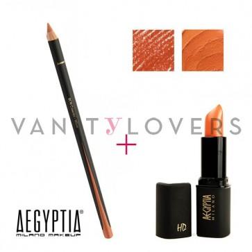 Aegyptia Lipstick 07 e Lip Pencil 212