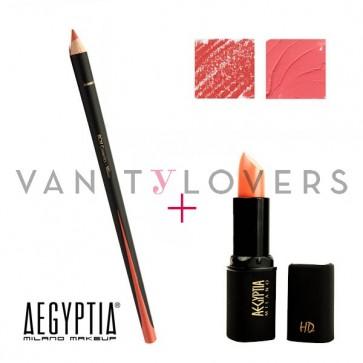 Aegyptia Lipstick 09 e Lip Pencil 209