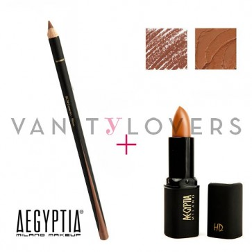 Aegyptia Lipstick 12 e Lip Pencil 213