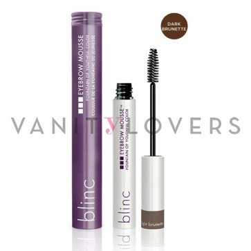 Blinc Eyebrow Mousse dark brunette - mascara colorato per sopracciglia marrone scuro
