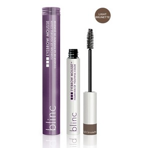 Blinc Eyebrow Mousse light brunette - mascara colorato per sopracciglia marrone chiaro