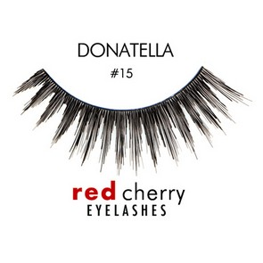 Red Cherry Ciglia Finte Eyelashes 15 Donatella
