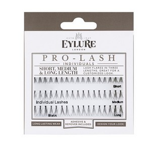 Eylure Individual Lashes Short & Medium Brown