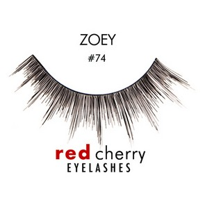Red Cherry Ciglia Finte Eyelashes 74 Zoey