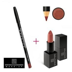 Stefania D'Alessandro Lipstick Copper e Pencil Rust