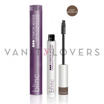 Blinc Eyebrow Mousse light brunette - mascara colorato per sopracciglia marrone chiaro