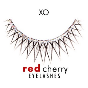 Red Cherry Ciglia Finte Eyelashes XO