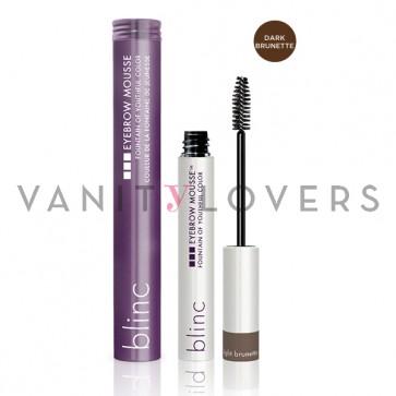Blinc Eyebrow Mousse dark brunette - mascara colorato per sopracciglia marrone scuro