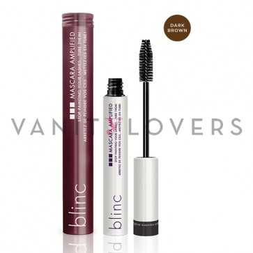 Blinc Mascara Amplified dark brown - mascara volumizzante marrone scuro