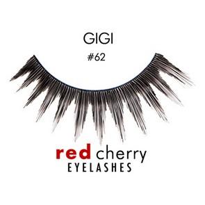 Red Cherry Ciglia Finte Eyelashes 62 Gigi
